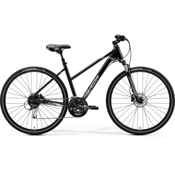 Bicycle Merida CROSSWAY 100 Lady 2020 metallic black