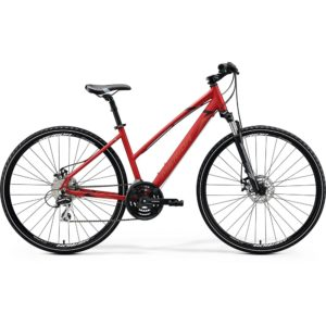 Bicycle Merida CROSSWAY Lady 20-MD red