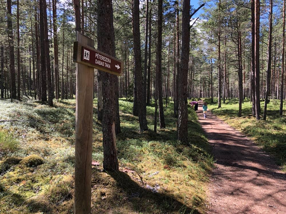 Pēterezers Nature Trail