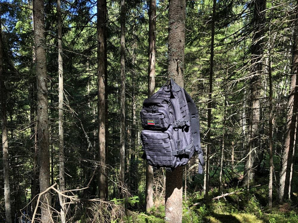 Hiking in Latvia