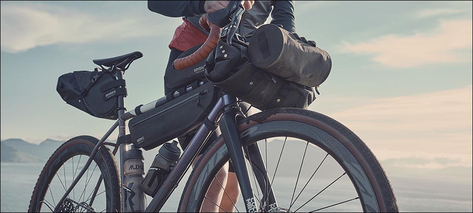 Brooks bikepacking