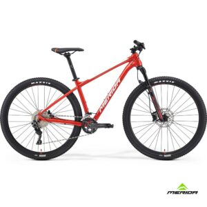 Bicycle Merida BIG NINE 500 2021 race red