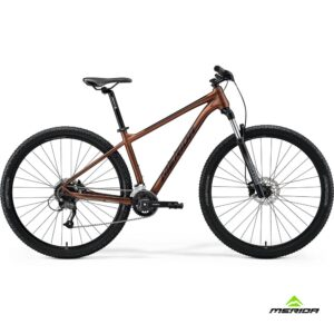 Bicycle Merida BIG NINE 60-2X 2021 matt bronze