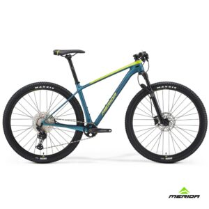 Bicycle Merida BIG.NINE 3000 2021 silk lime-teal-blue