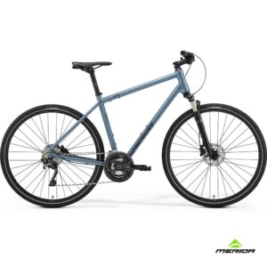 Bicycle Merida CROSSWAY XT-edition 2021 matt steel blue