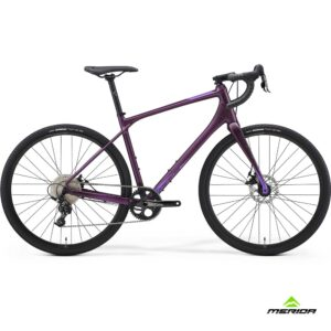 Bicycle Merida SILEX 300 2021 matt dark purple