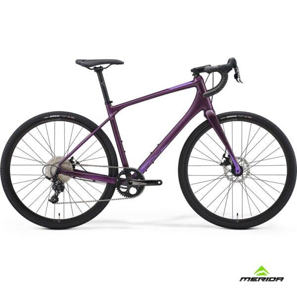 Bicycle Merida SILEX 300 2021 matt dark purple
