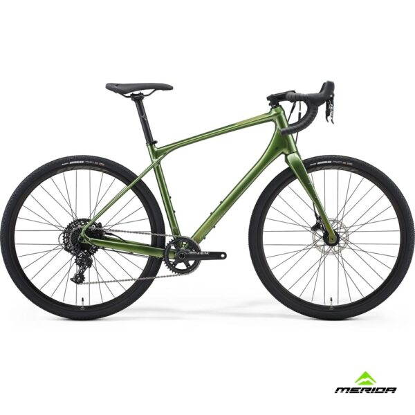 Bicycle Merida SILEX 600 2021 glossy fog green