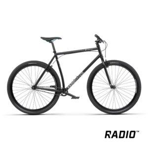Bicycle Radio DIVIDE matt black